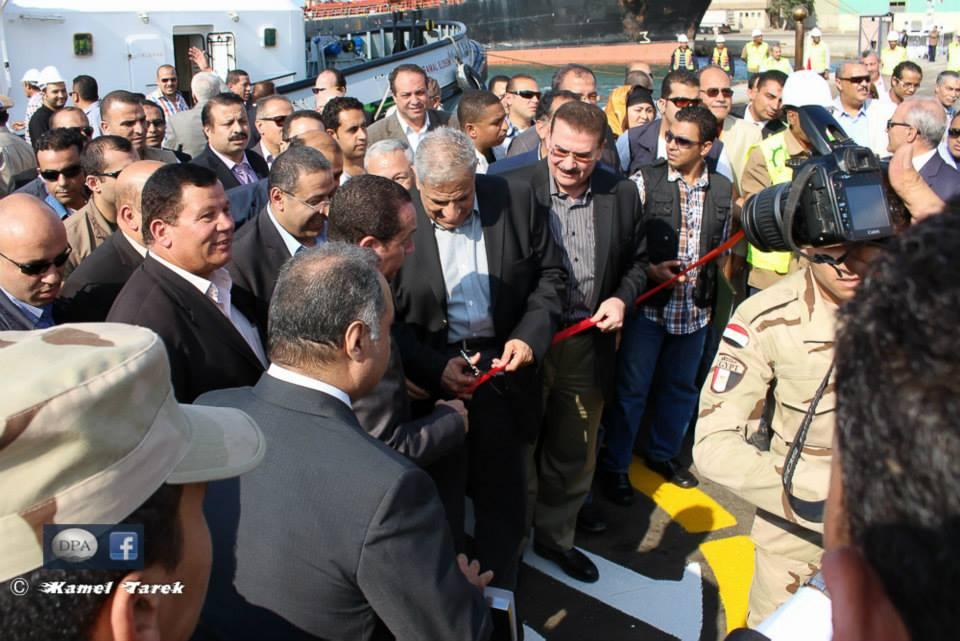 Prime Minister  Eng.Ibrahim Mahlab in Damietta port Album -28-10-2014