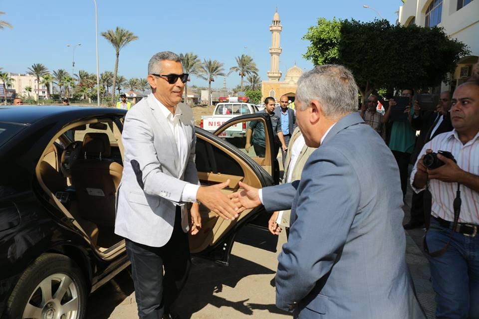 Minister of Transport in Damietta Port Album : 3-10-2015