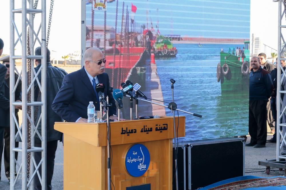 Prime Minister in Damietta port Album -16-1-2016